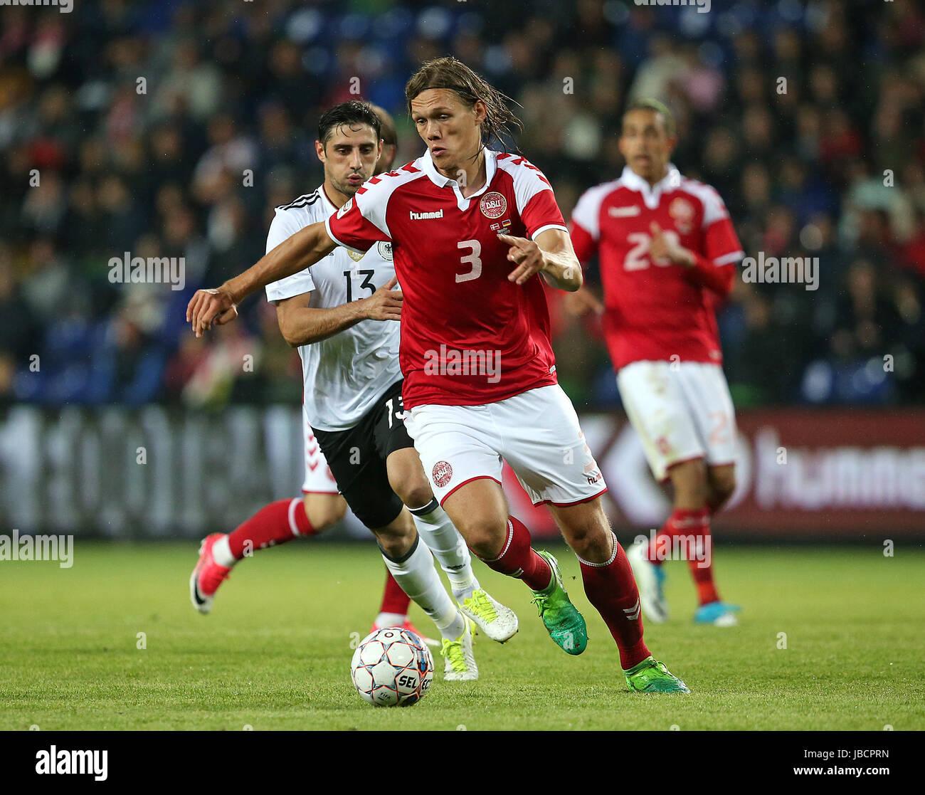 06.06.2017, Fussball Länderspiel, Dänemark - Deutschland, in Brondby Stadion Kopenhagen, v.l. Lars Stindl (Deutschland) Stock Photo