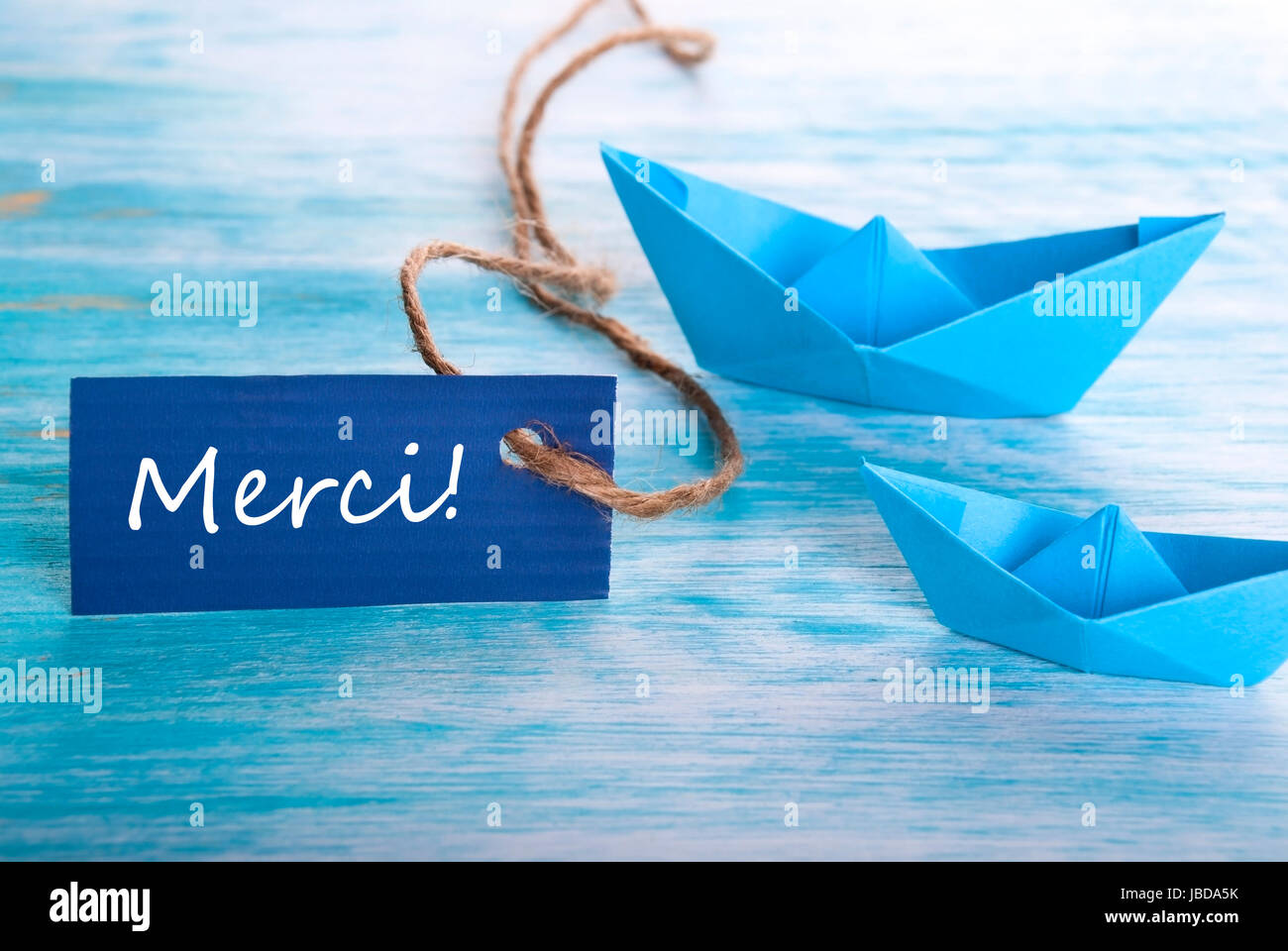 Sign French Text Merci Means Stock Photos Sign French Text