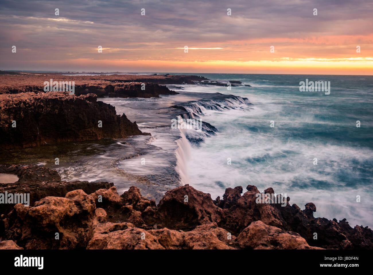 Quobba Coastline, Western Australia Stock Photo