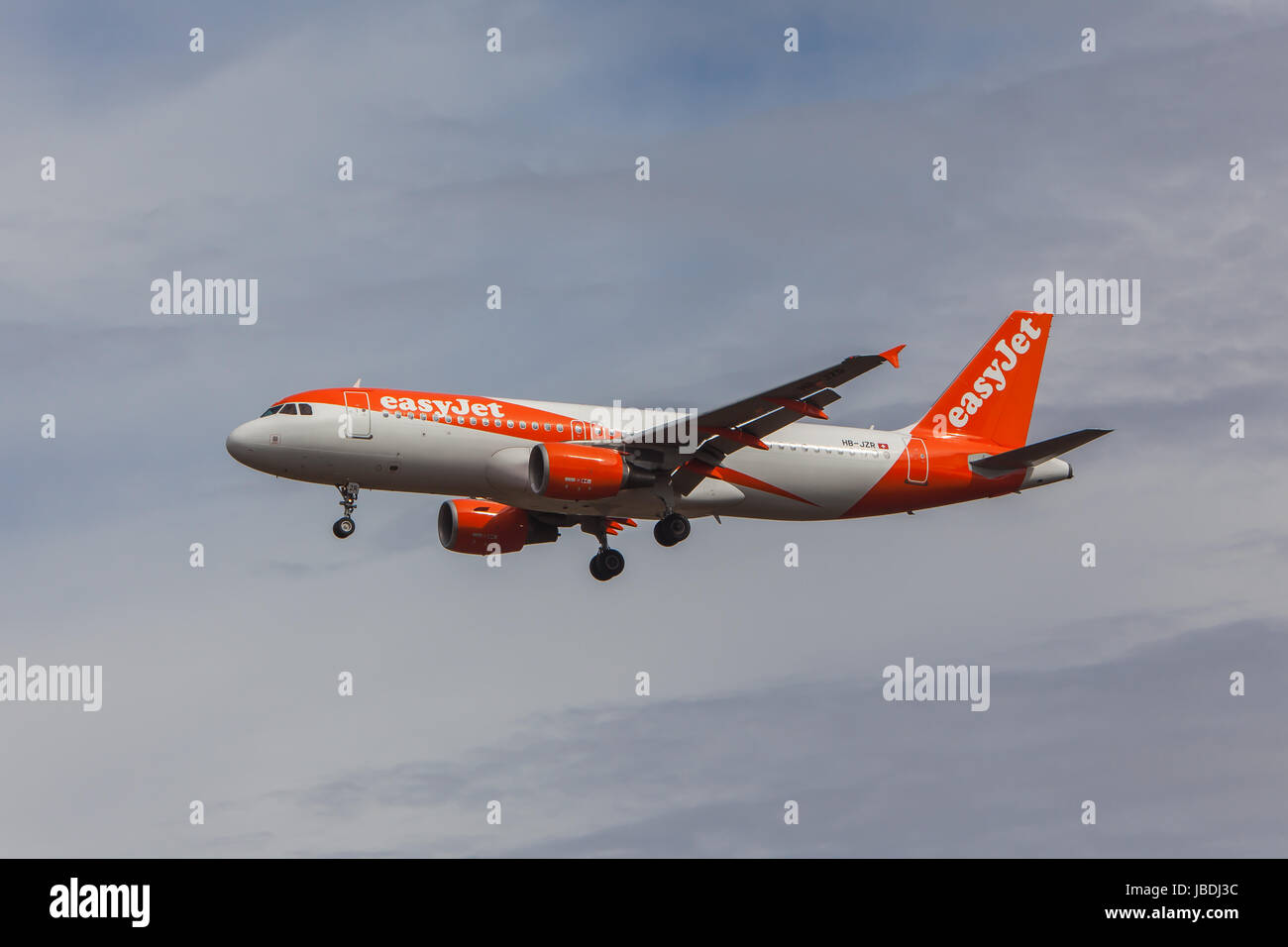 EasyJet Airbus A320-214 Stock Photo