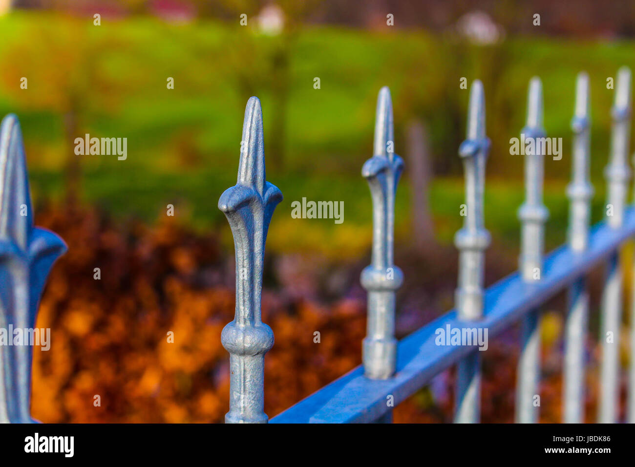 An Image of a fence - Stock Image