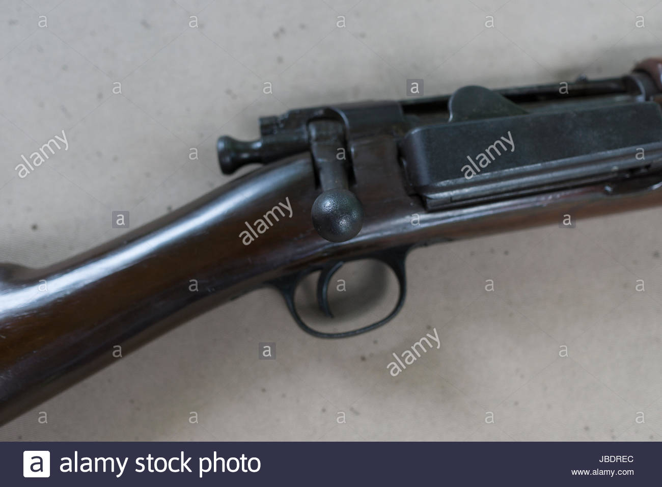 Krag cavalry carbine  Made at Springfield Armory in 1898  Carbine