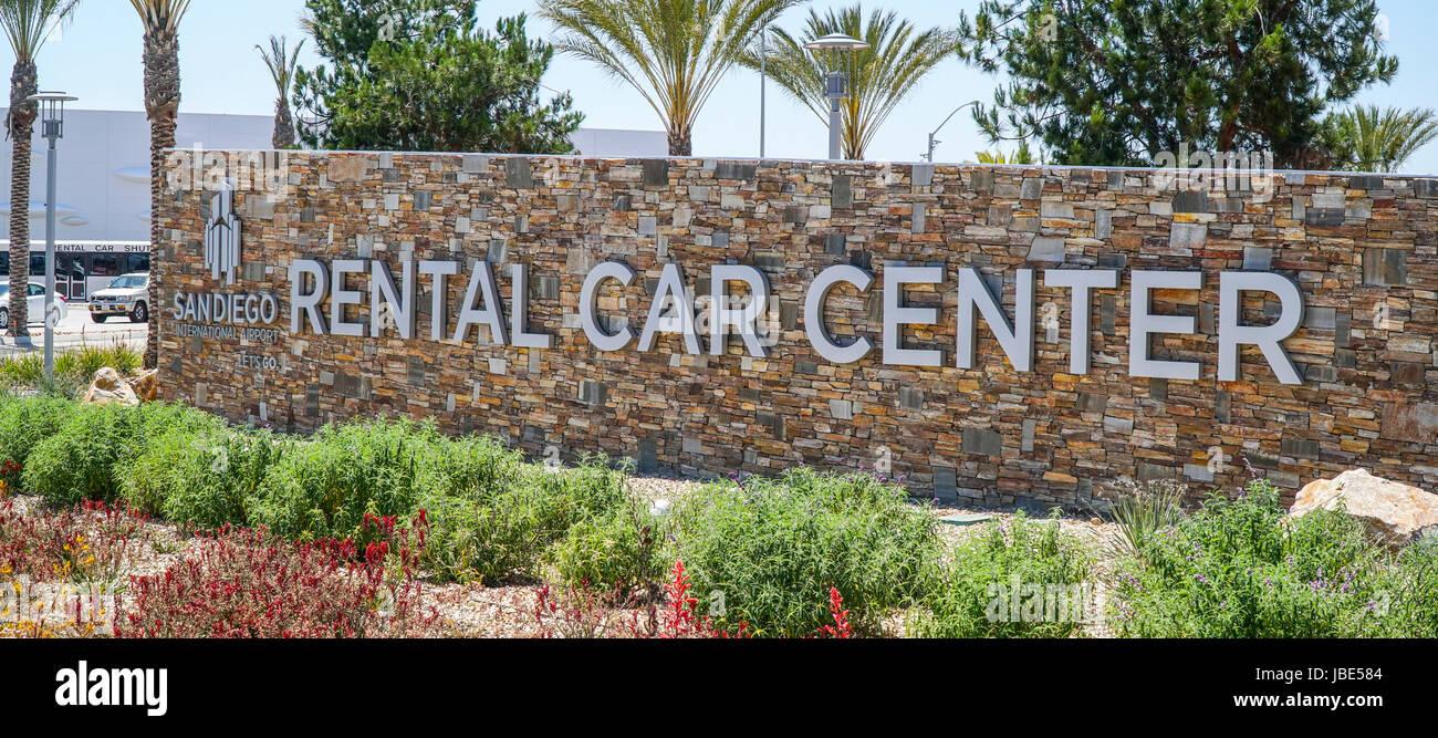 Rental Car Center At San Diego International Airport San Diego