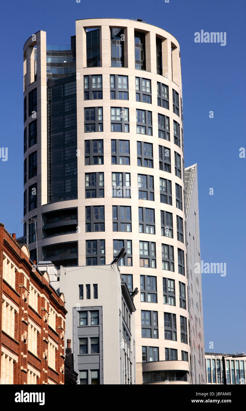 Eagle House Luxury Flats City Road Shoreditch London Stock Photo