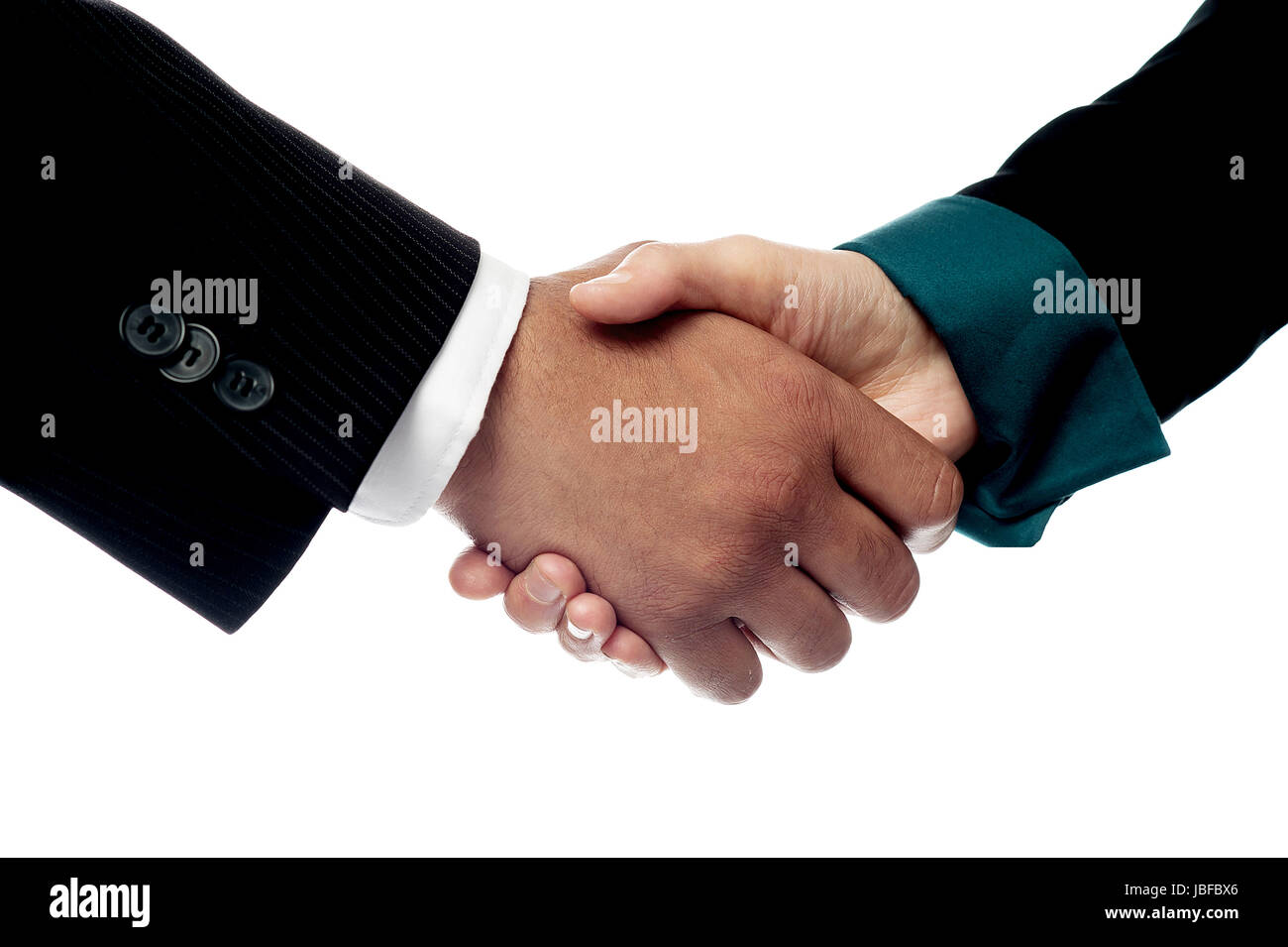 The deal is finalized, congratulations! - Stock Image