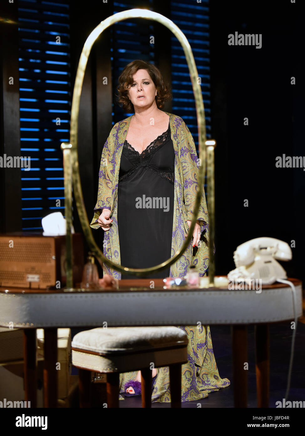 Marcia Gay Harden in the role of The Princess Kosmonopolis aka Alexandra del Lago in a scene from Tennessee Williams Stock Photo