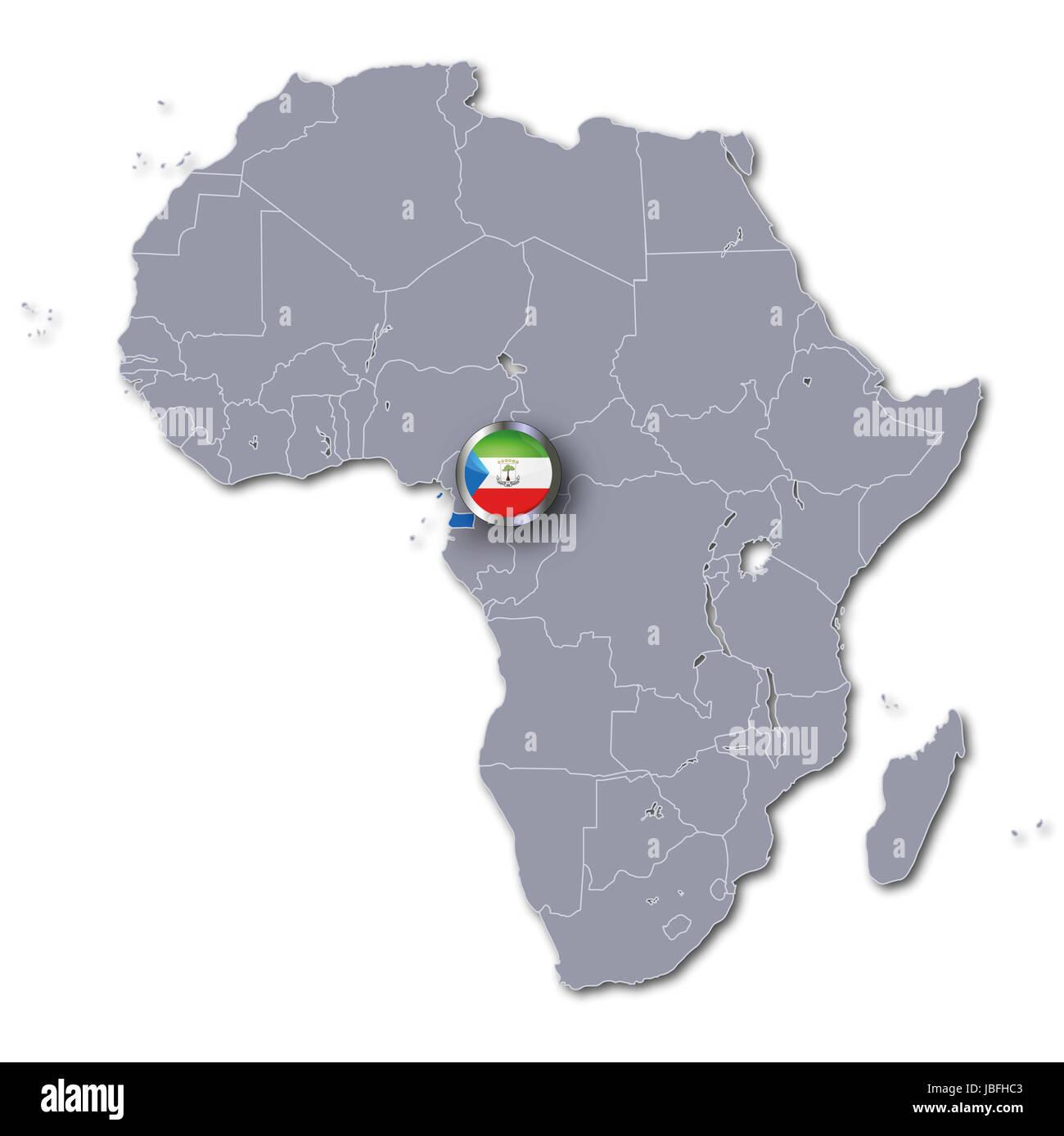 africa map of equatorial guinea africa map