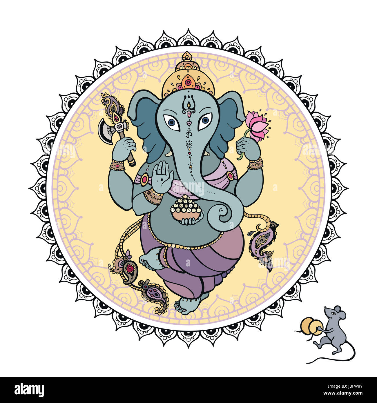 Ganesh Graphic Stock Photos & Ganesh Graphic Stock Images - Alamy