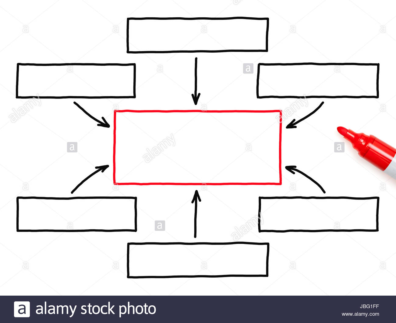 Male hand drawing blank flow chart with marker on transparent wipe male hand drawing blank flow chart with marker on transparent wipe board ccuart Gallery
