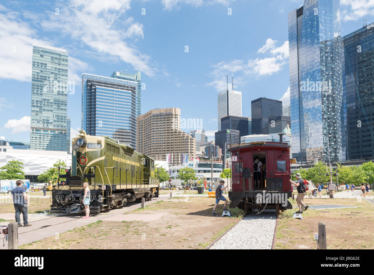 Toronto Railway Museum - Stock Image