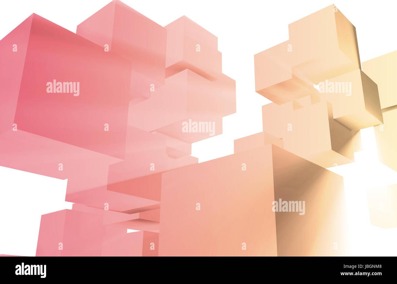 Evolving Technology Evolution as a Background Art - Stock Image