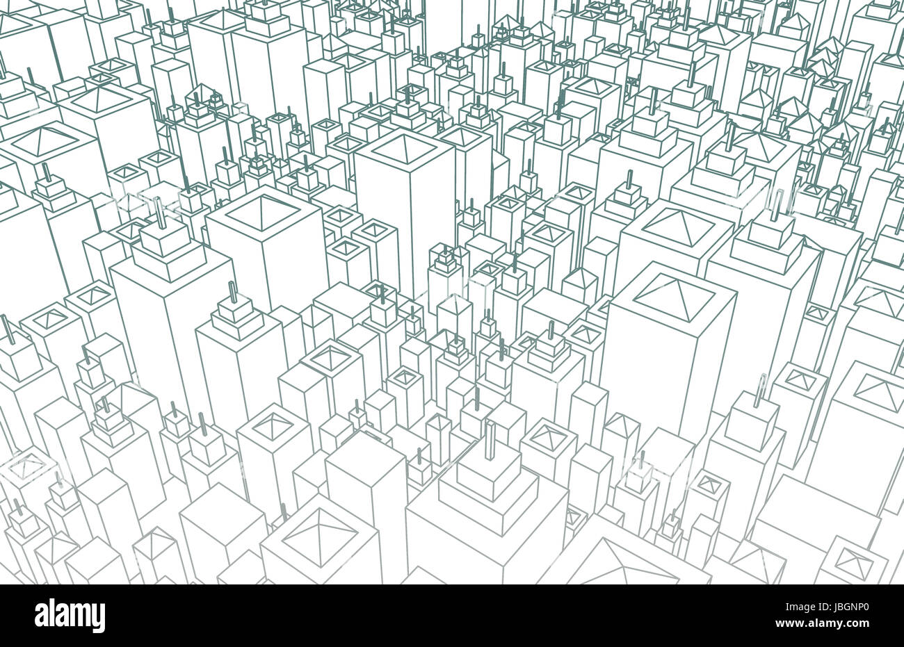 Wireframe city with buildings and blueprint design art stock photo wireframe city with buildings and blueprint design art malvernweather Image collections