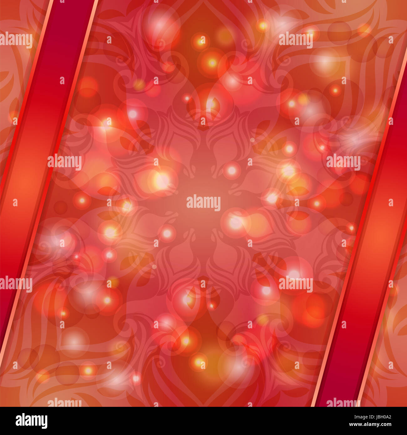 Red Vintage Vector Abstract Background Can Be Used For