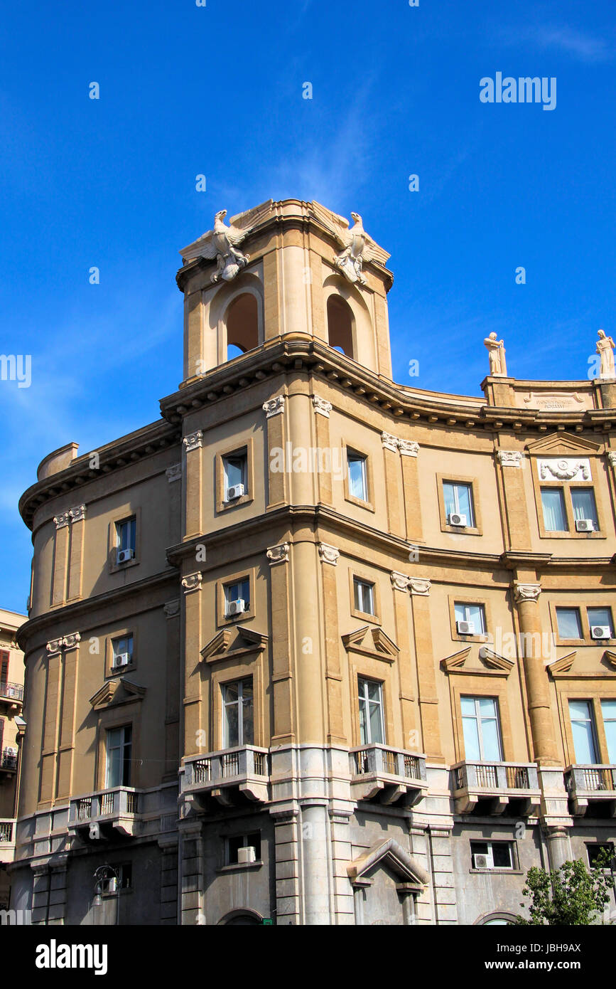 neoclassicism in palermo - Stock Image