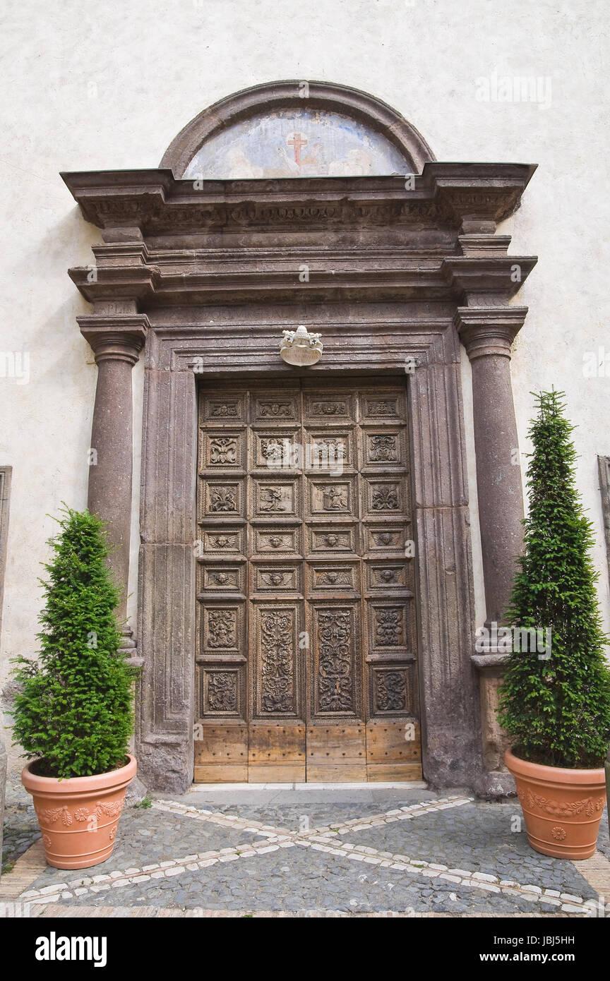 St. Maria della Consolazione Church. Caprarola. Lazio. Italy. Stock Photo