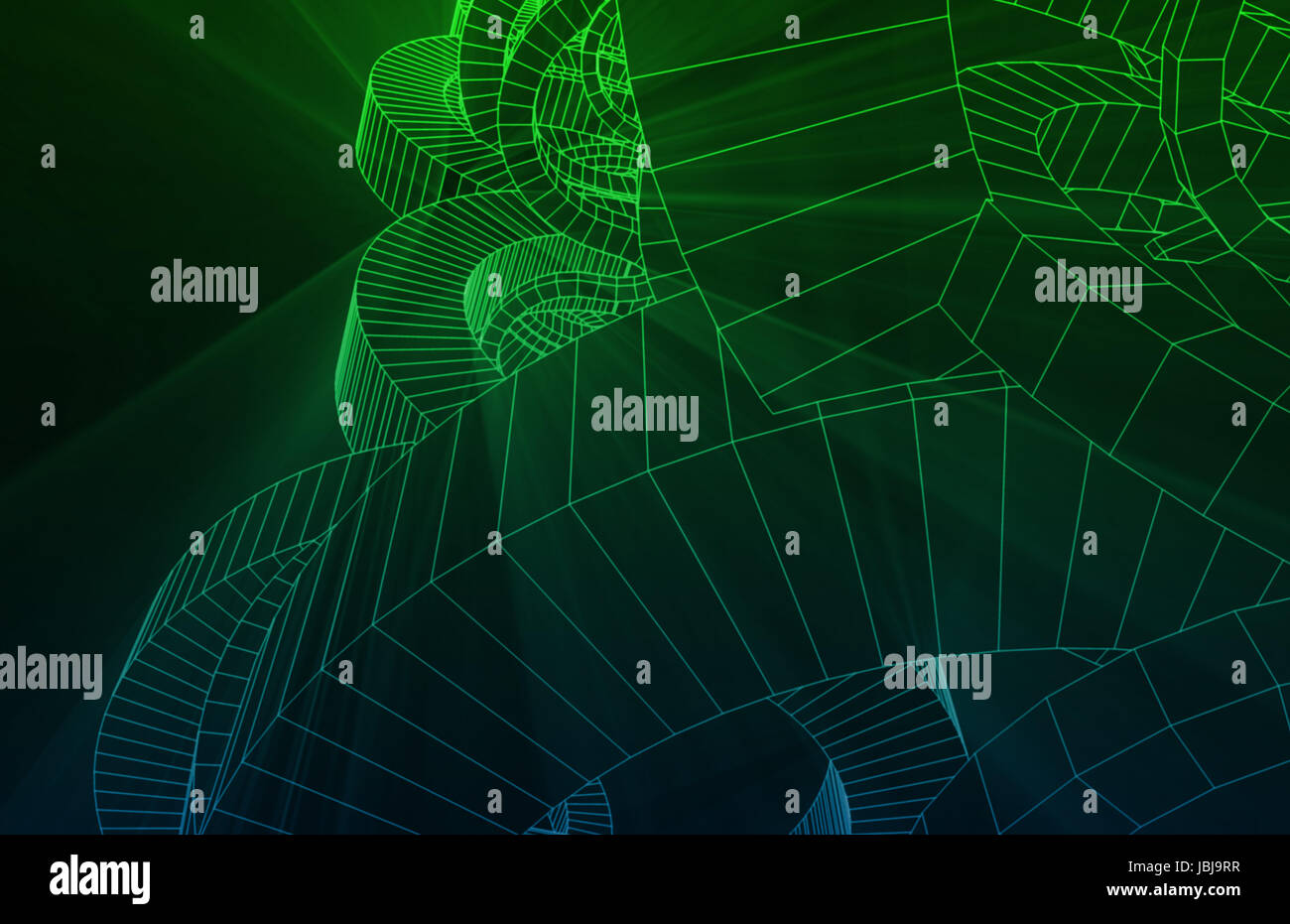 Science Research in the Medicine Biology Field - Stock Image