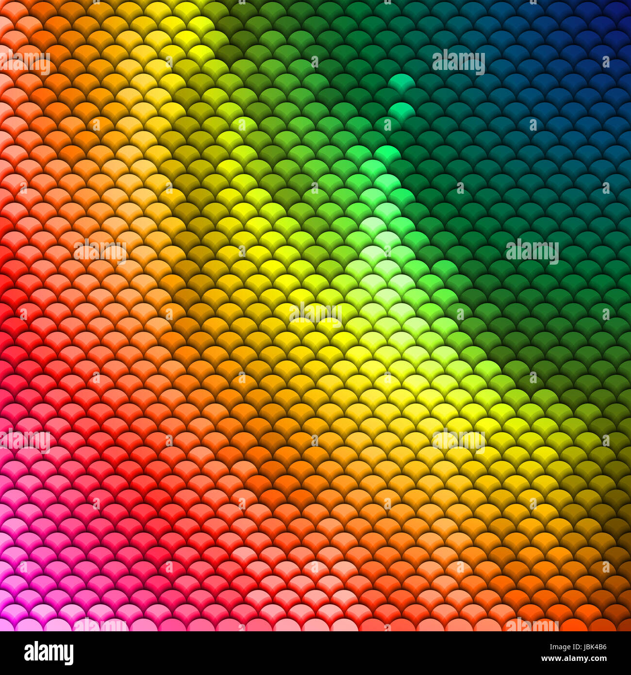 Abstract scales pattern in spectrum colors. Textured background - Stock Image