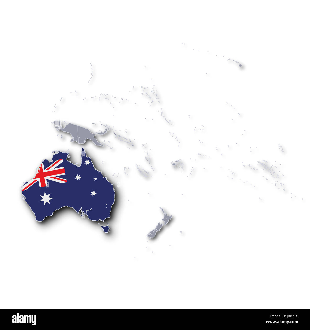 Australia And Pacific Map.Pacific Map Australia Stock Photo 144867420 Alamy