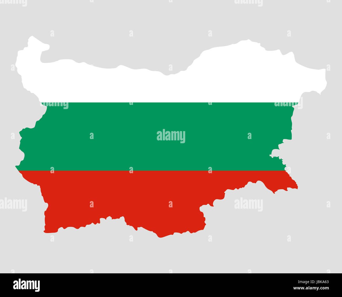 Karte Bulgarien.Bulgarien Fahne Stock Photos Bulgarien Fahne Stock Images