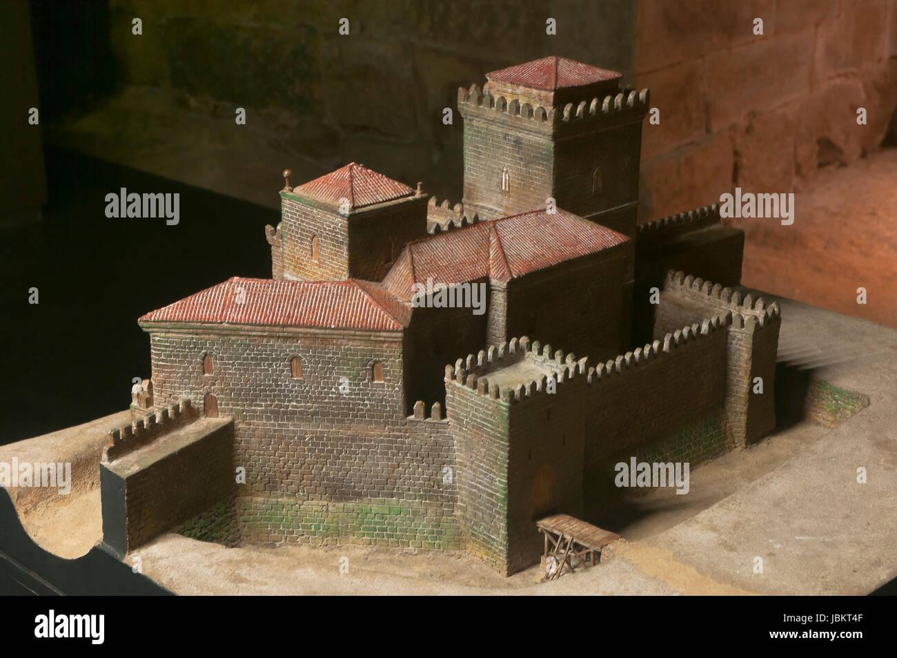 Interpretation Center of the Archbishop's Towers - CITA, Pontevedra, Region of Galicia, Spain, Europe - Stock Image