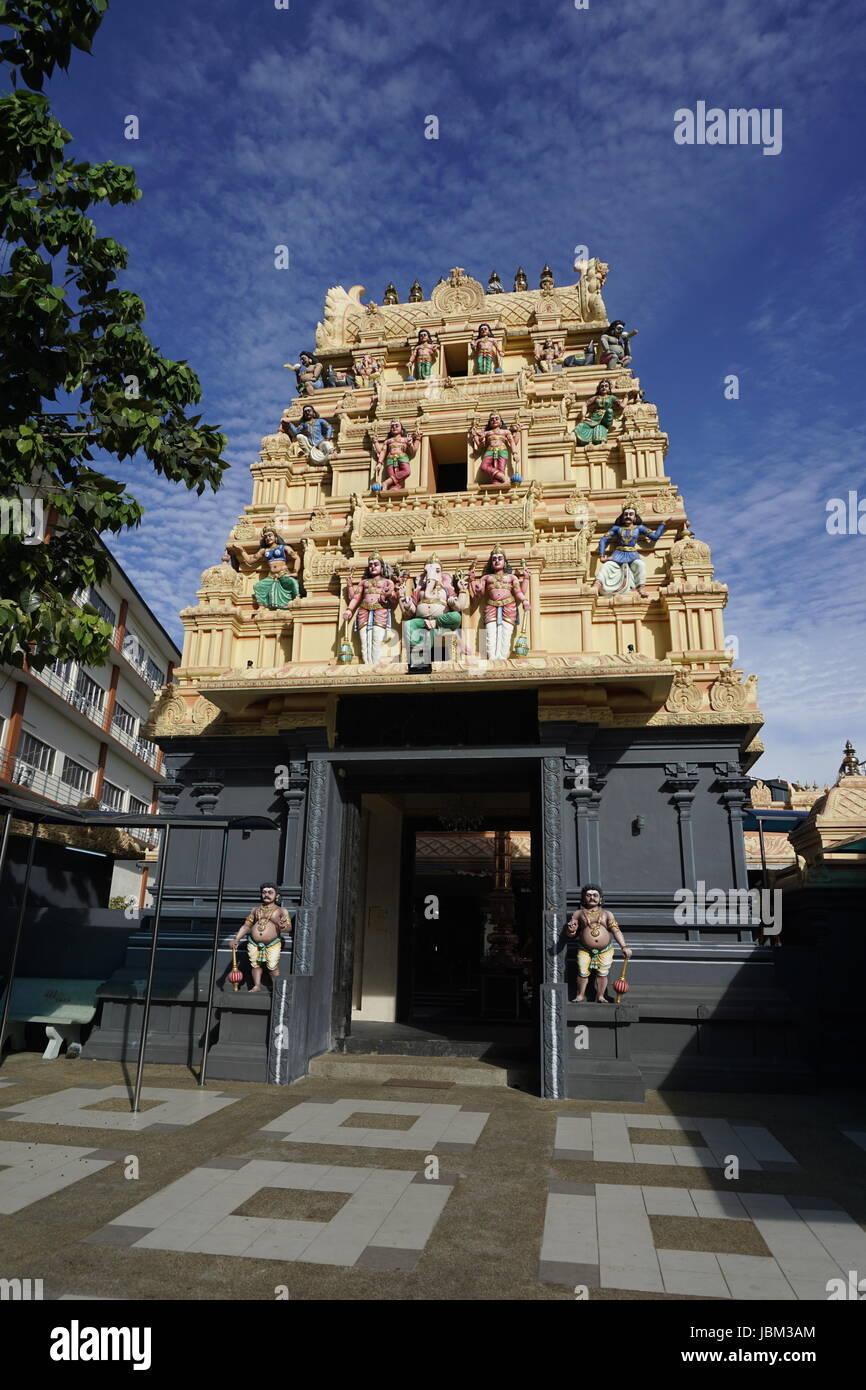 Sri Sithi Vinayagar  temple in Pudu, Kuala Lumpur, Malaysia - Stock Image