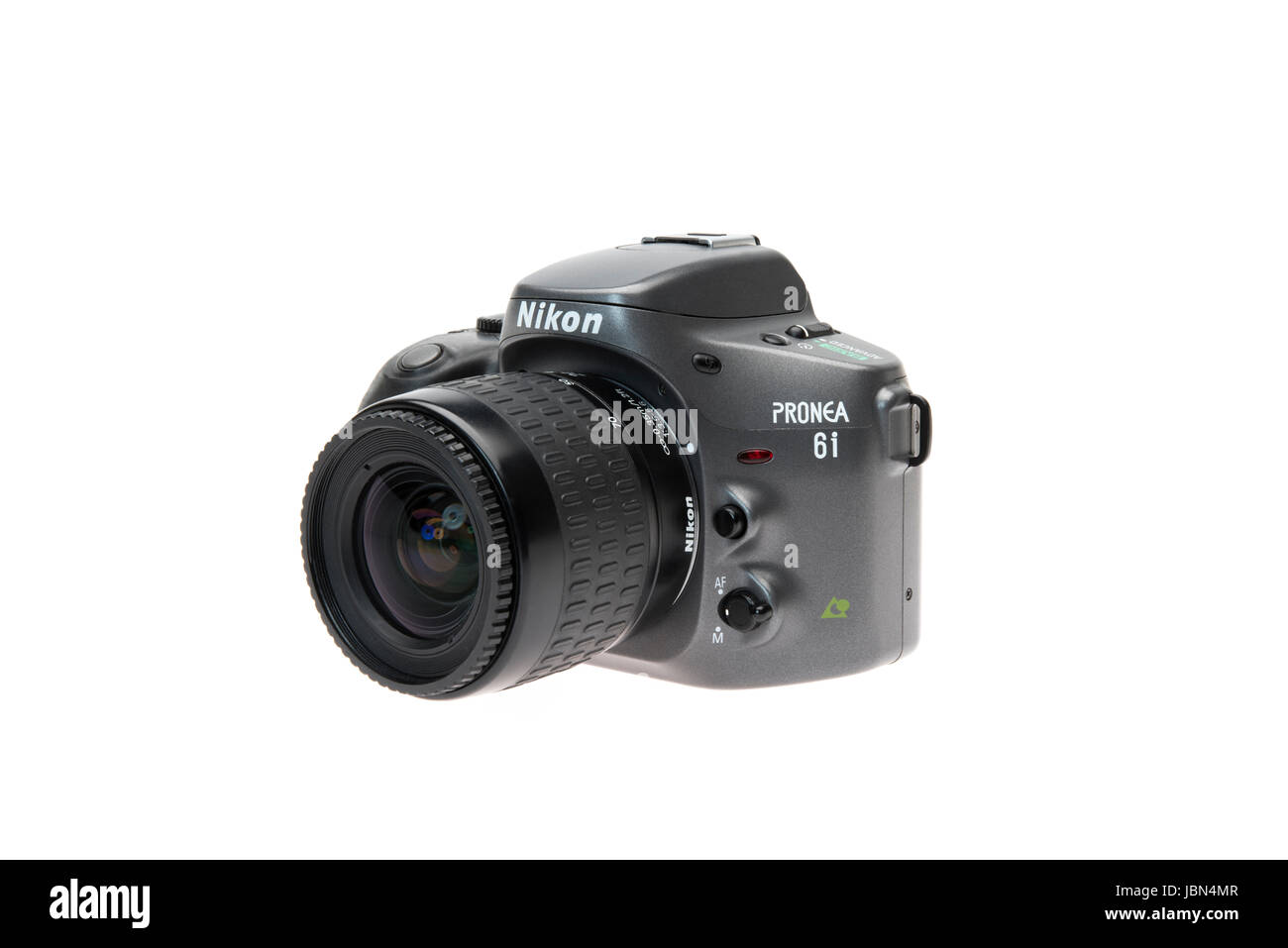 Nikon PRONEA 6i (600i) with IX-Nikkor lens APS film SLR camera released 1996 - Stock Image