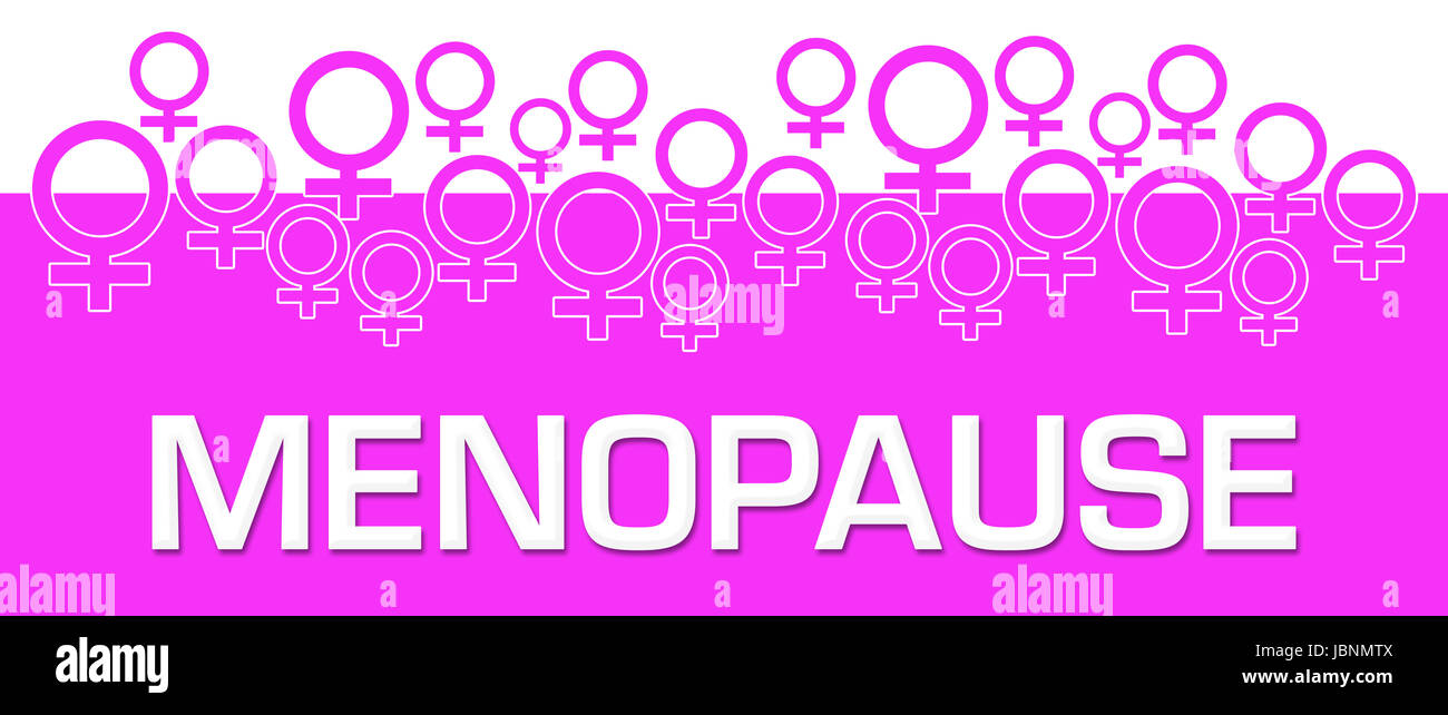 Menopause Female Symbols On Top - Stock Image