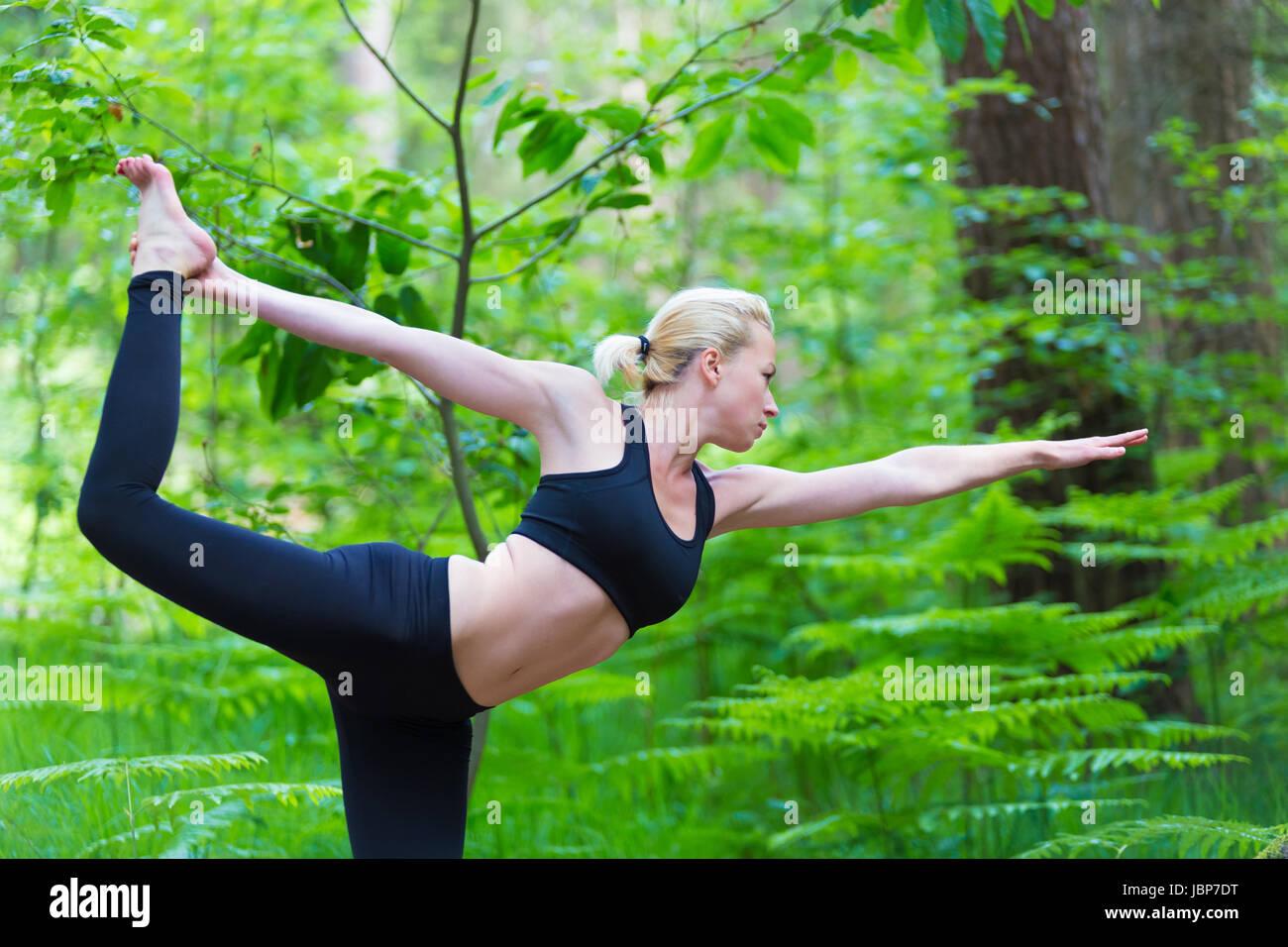 Bikram Yoga High Resolution Stock Photography And Images Alamy