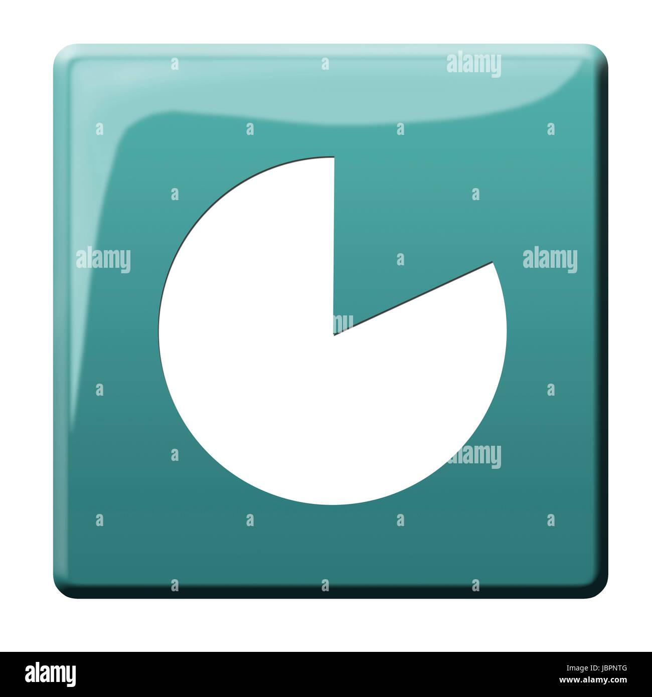 data usage button - Stock Image