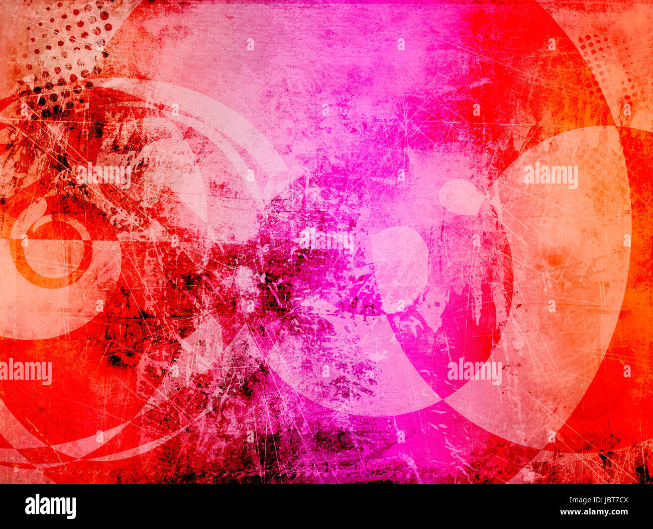 farben texturen grunge - Stock Image