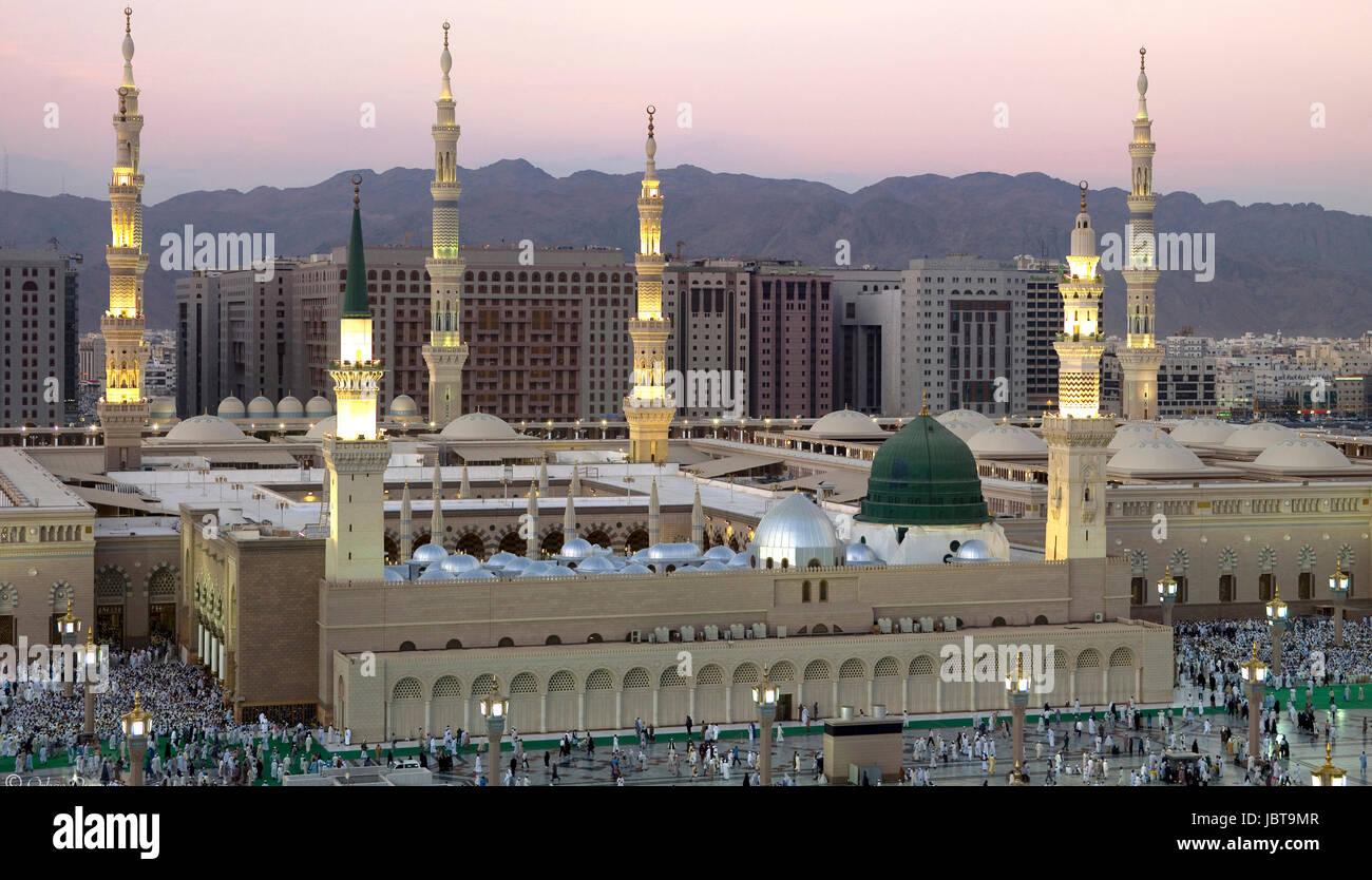 Madinah al Munawwarah - Stock Image