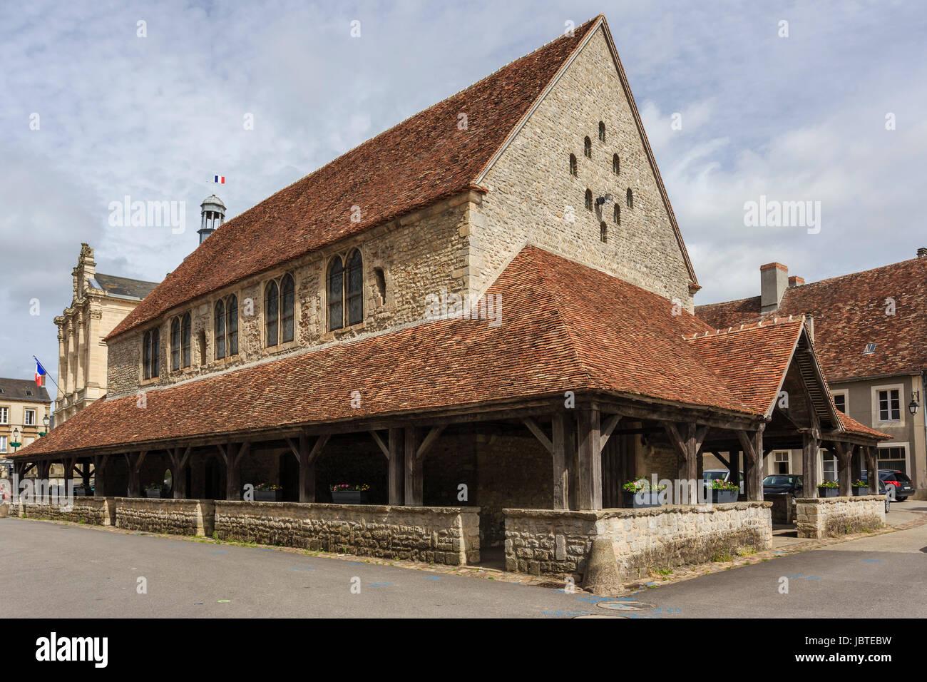 France, Orne (61), Sées, bâtiment du chapitre dit chapelle canoniale // France, Orne, Sees, building chapter - Stock Image