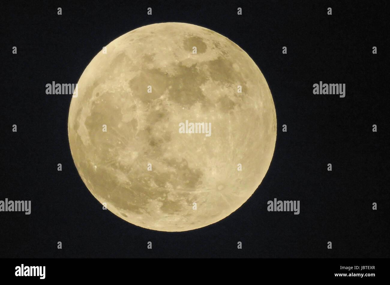 Vollmond / Full Moon - Stock Image