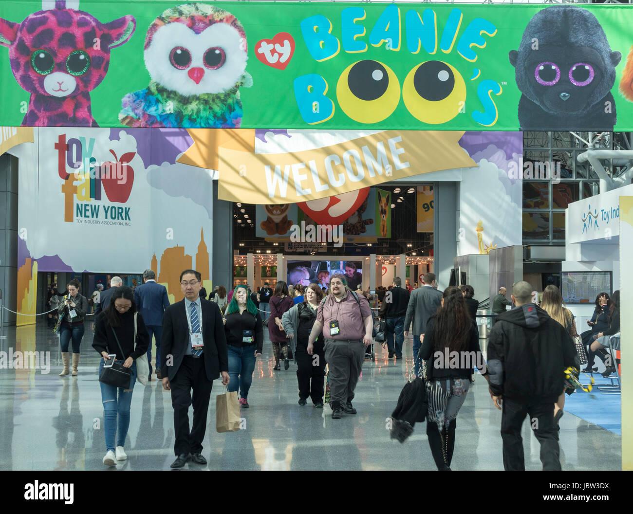 American International Toy Fair, Jacob K. Javits Convention Center, Manhattan, New York City, USA Stock Photo