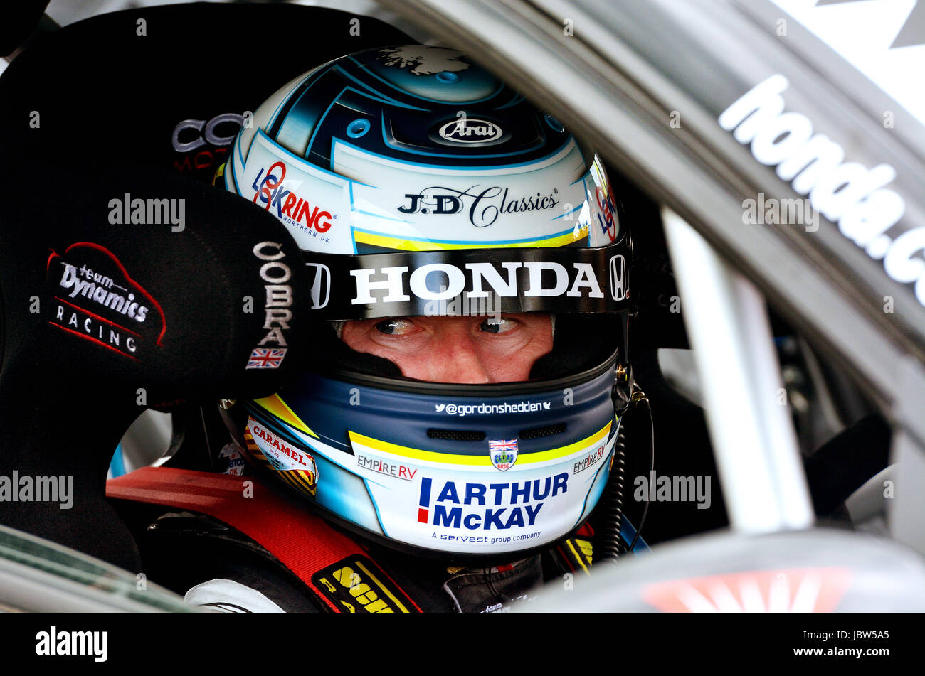 British Touring Car Championship - Stock Image