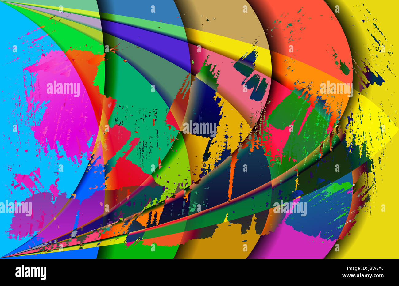 abstract gradient - Stock Image