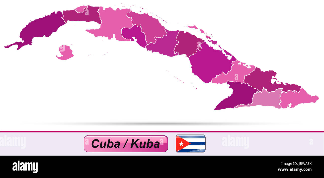 Karte Kuba.Karte Von Kuba Stock Photos Karte Von Kuba Stock Images Alamy