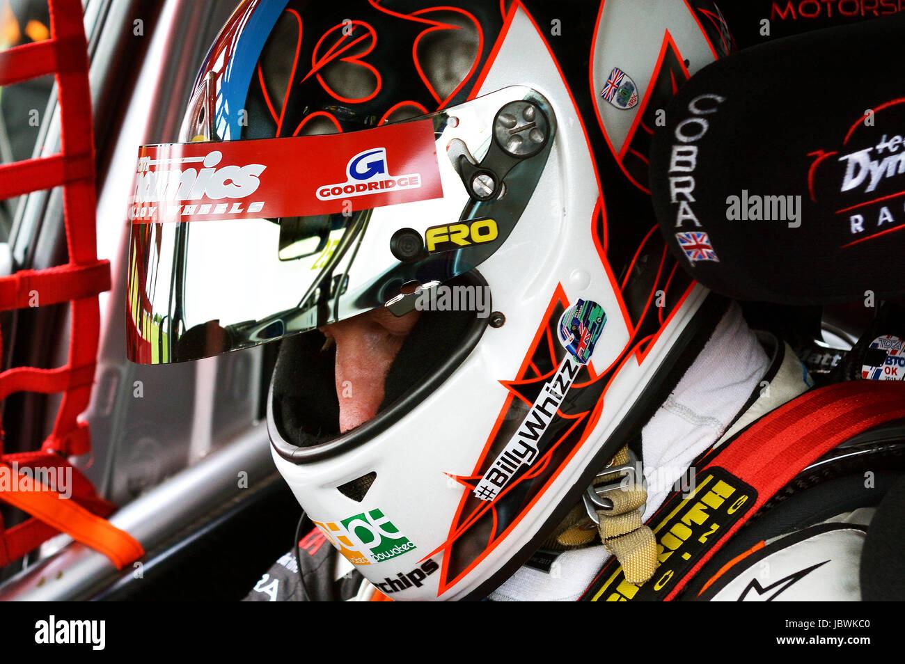 Dunlop MSA British Touring Car Championship, Matt Hear driving his Honda, - Stock Image