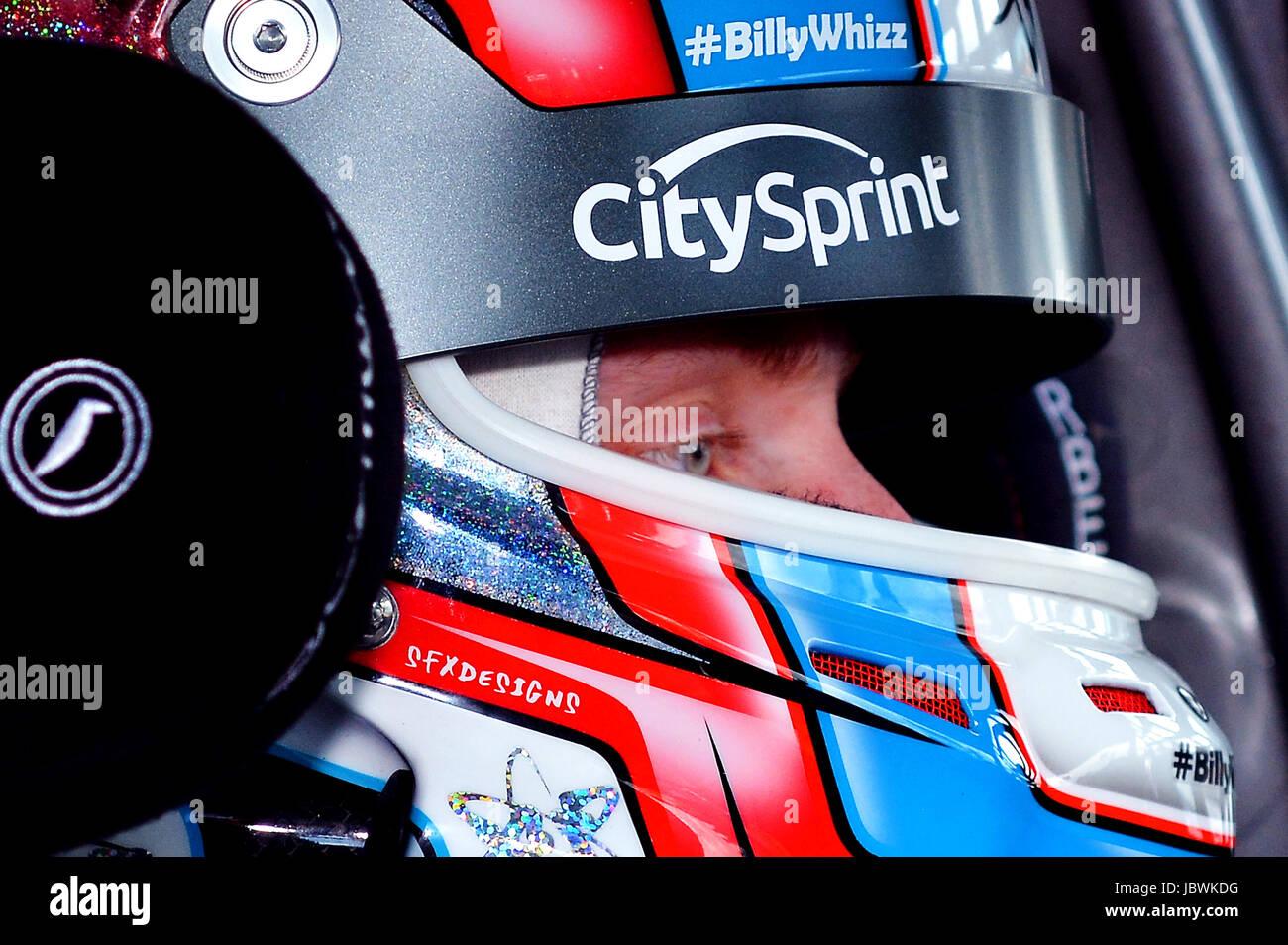 Dunlop MSA British Touring Car Championship, Adam Flux, driving a Subaru - Stock Image