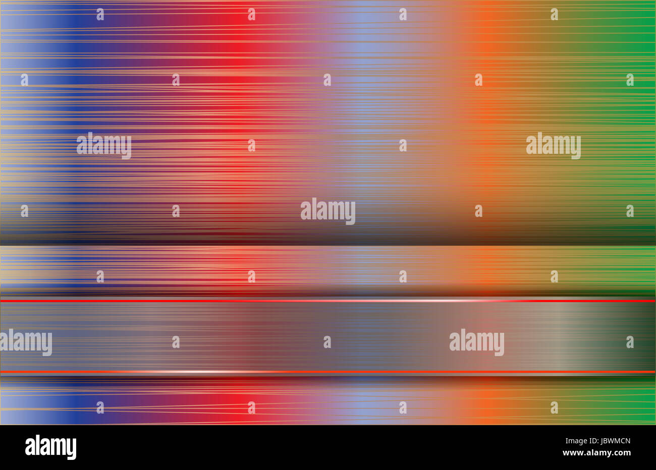 metallic backdrop - Stock Image
