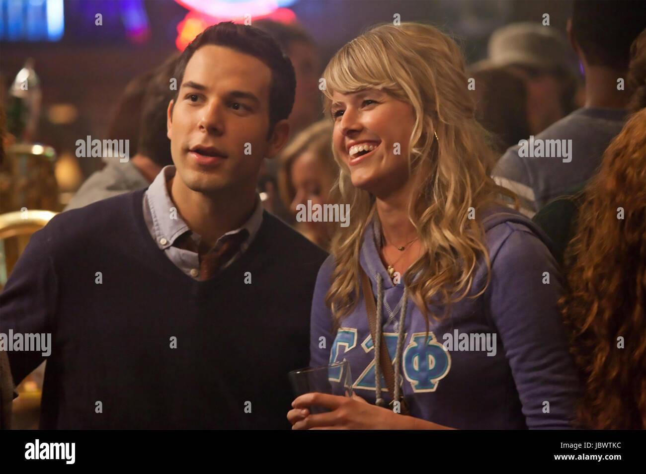 21 & OVER  2013 Relativity Media film with Sarah Wright and Skylar Astin - Stock Image