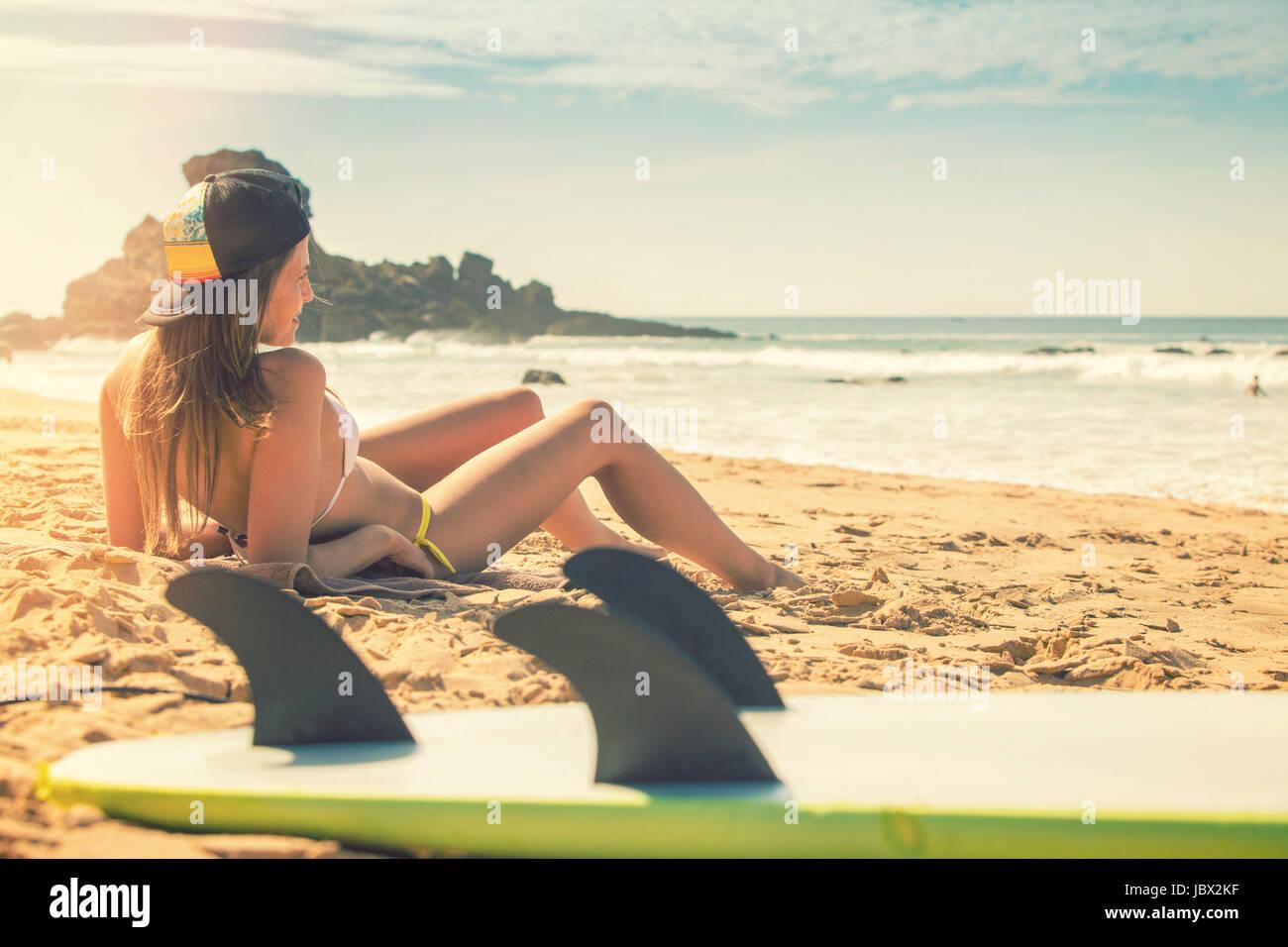 Nackt surf girls