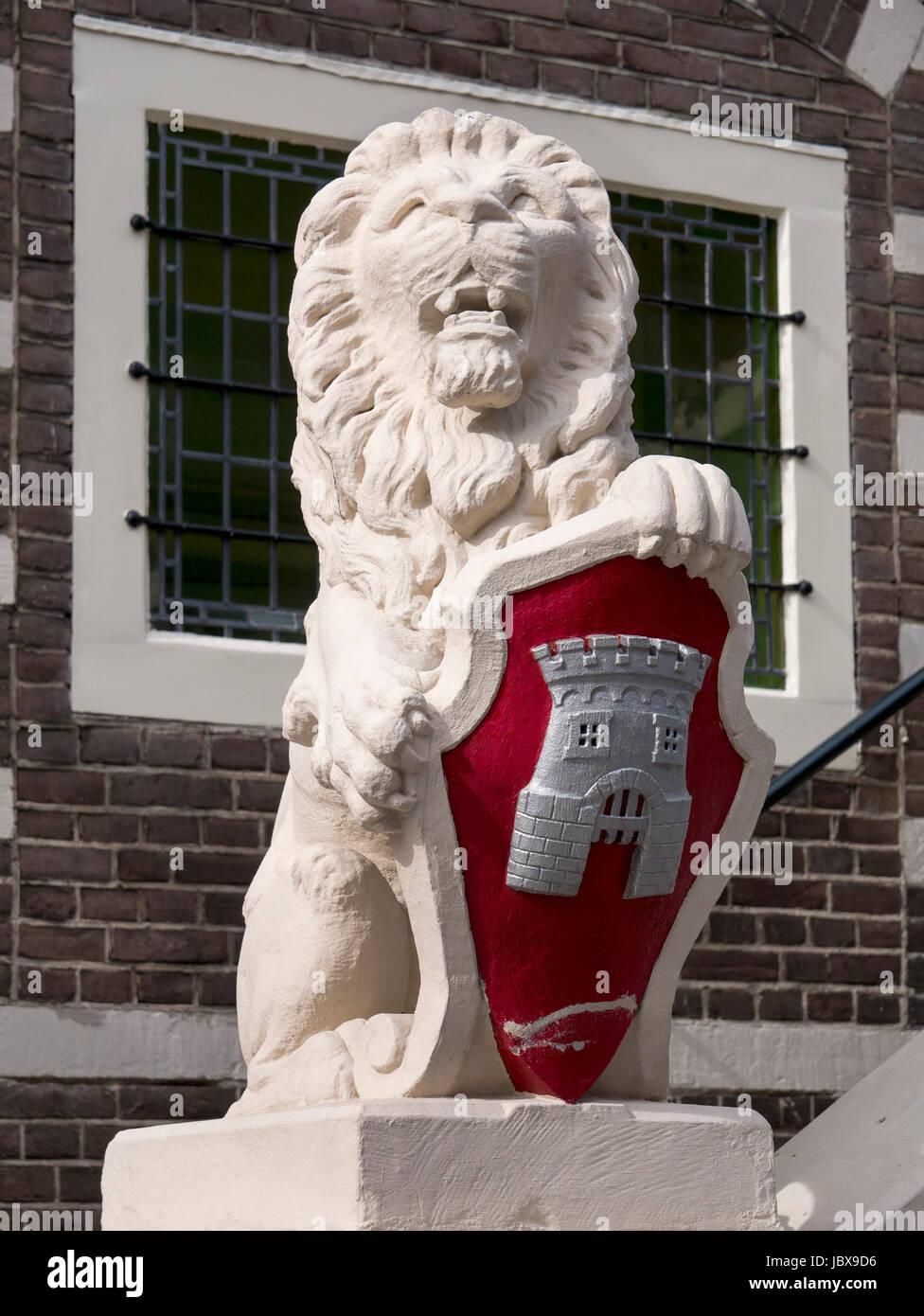 Rathaus in Alkmaar, Provinz Nordholland, Niederlande City Hall  in Alkmaar, Province North Holland, Netherlands Stock Photo