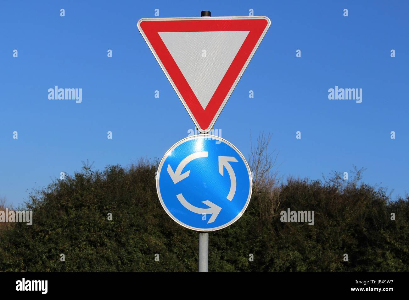 An Image of a traffic sign - Stock Image