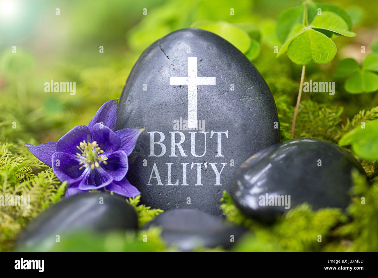 brutality - Stock Image