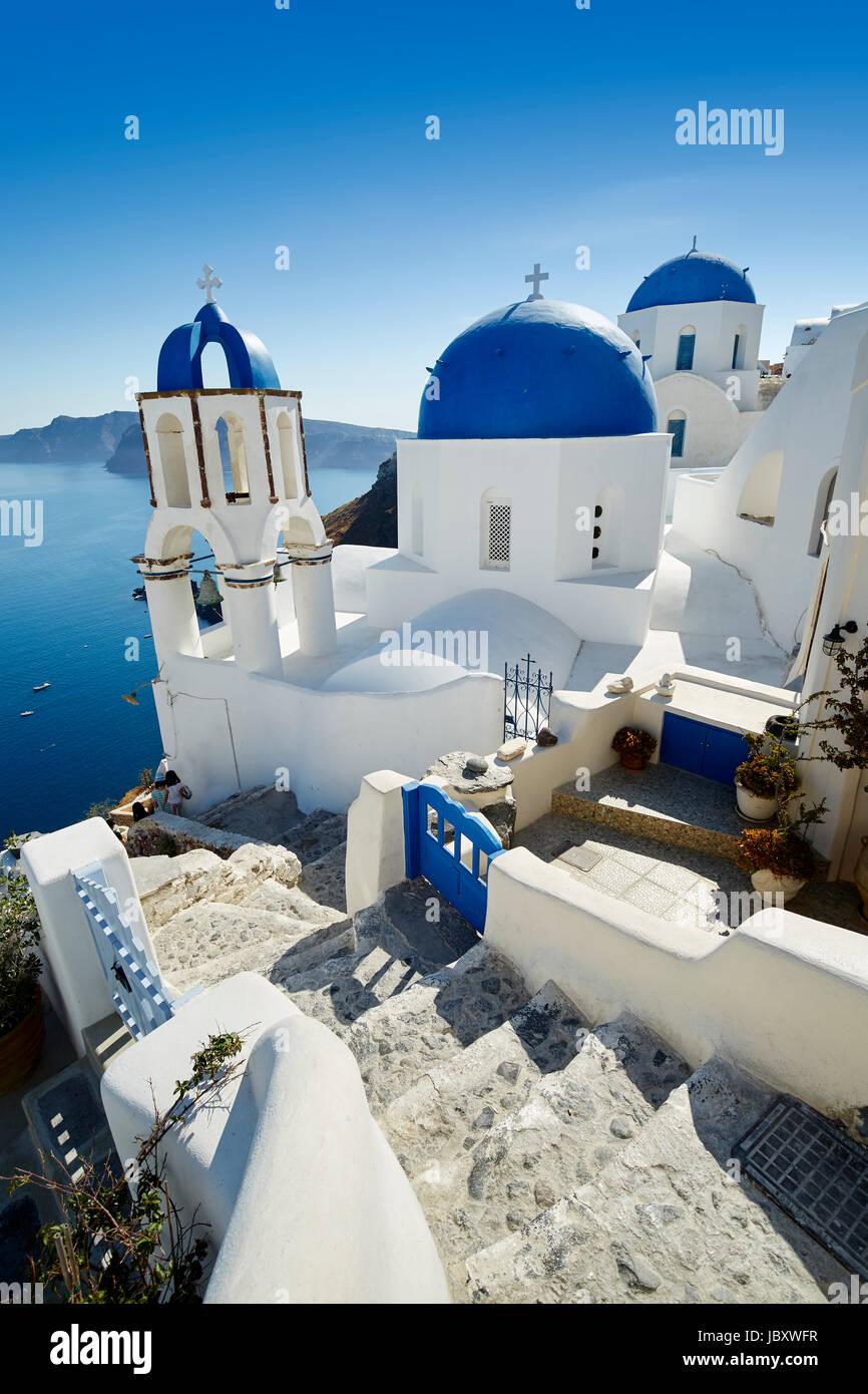 Oia, Santorini - Stock Image