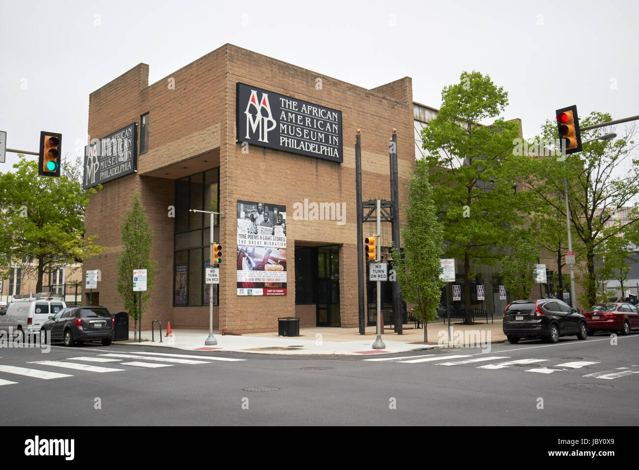 The African American Museum In Philadelphia Usa Stock Photo