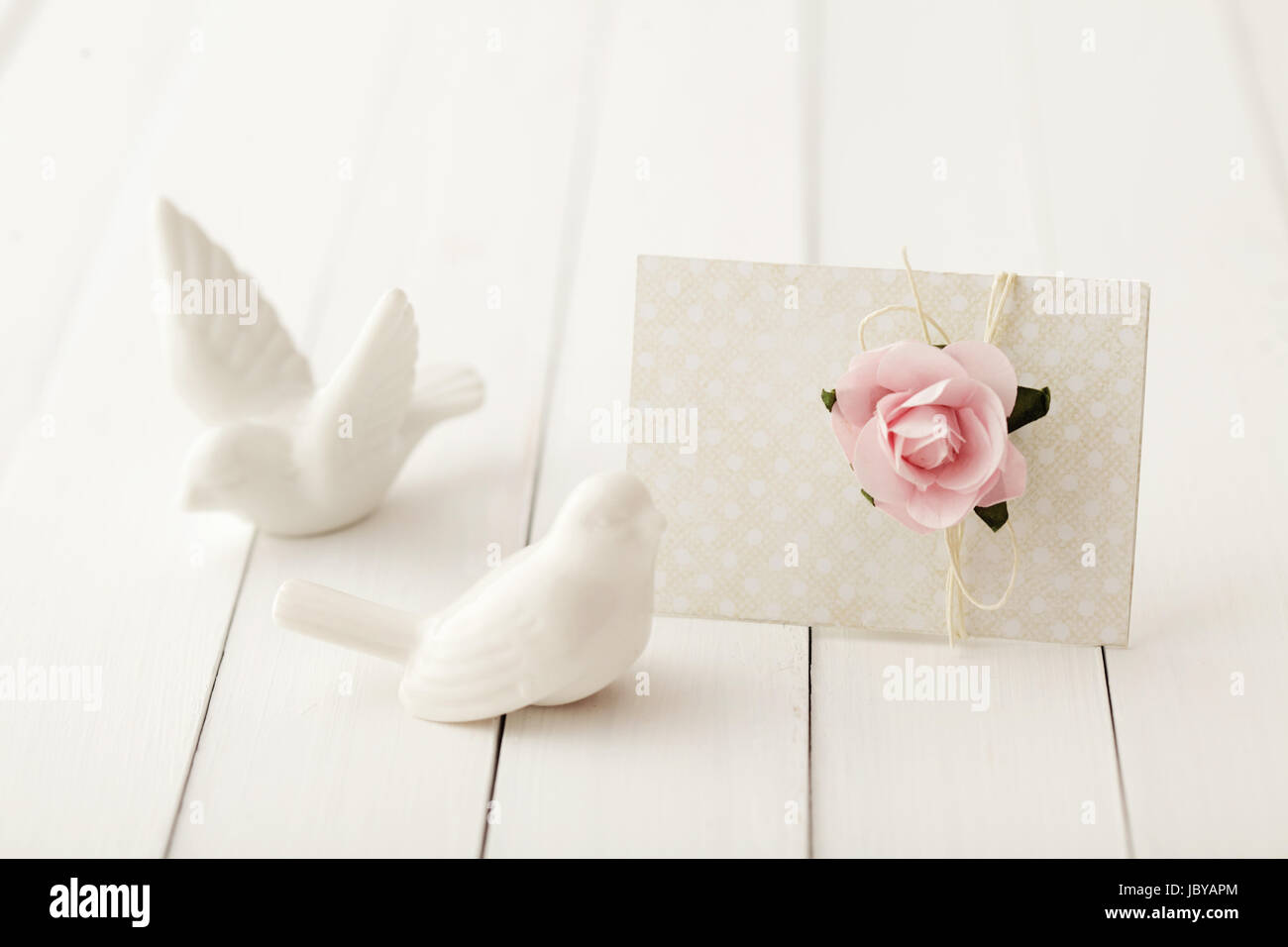 Love Letter Gift Tag Greeting Card Or Wedding Invitation