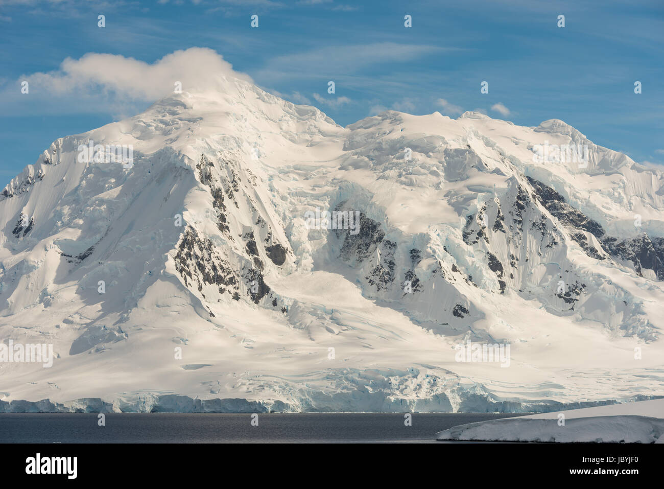 Mountains in Antarctica - Stock Image