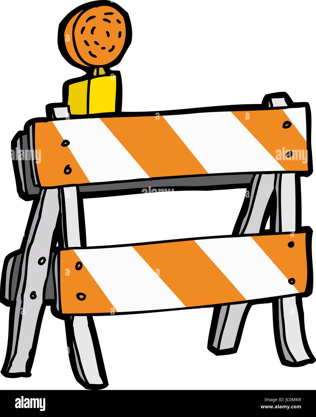 Construction Barricade Stock Photos Amp Construction